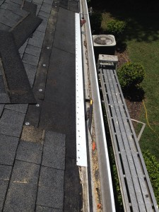 NEW UNDERLAYMENT IS INSTALLED ALONG WITH NEW DRIP EDGE METAL