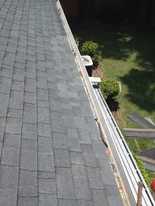 WE THEN INSTALL NEW SHINGLES FOR A WATER TIGHT FINISH