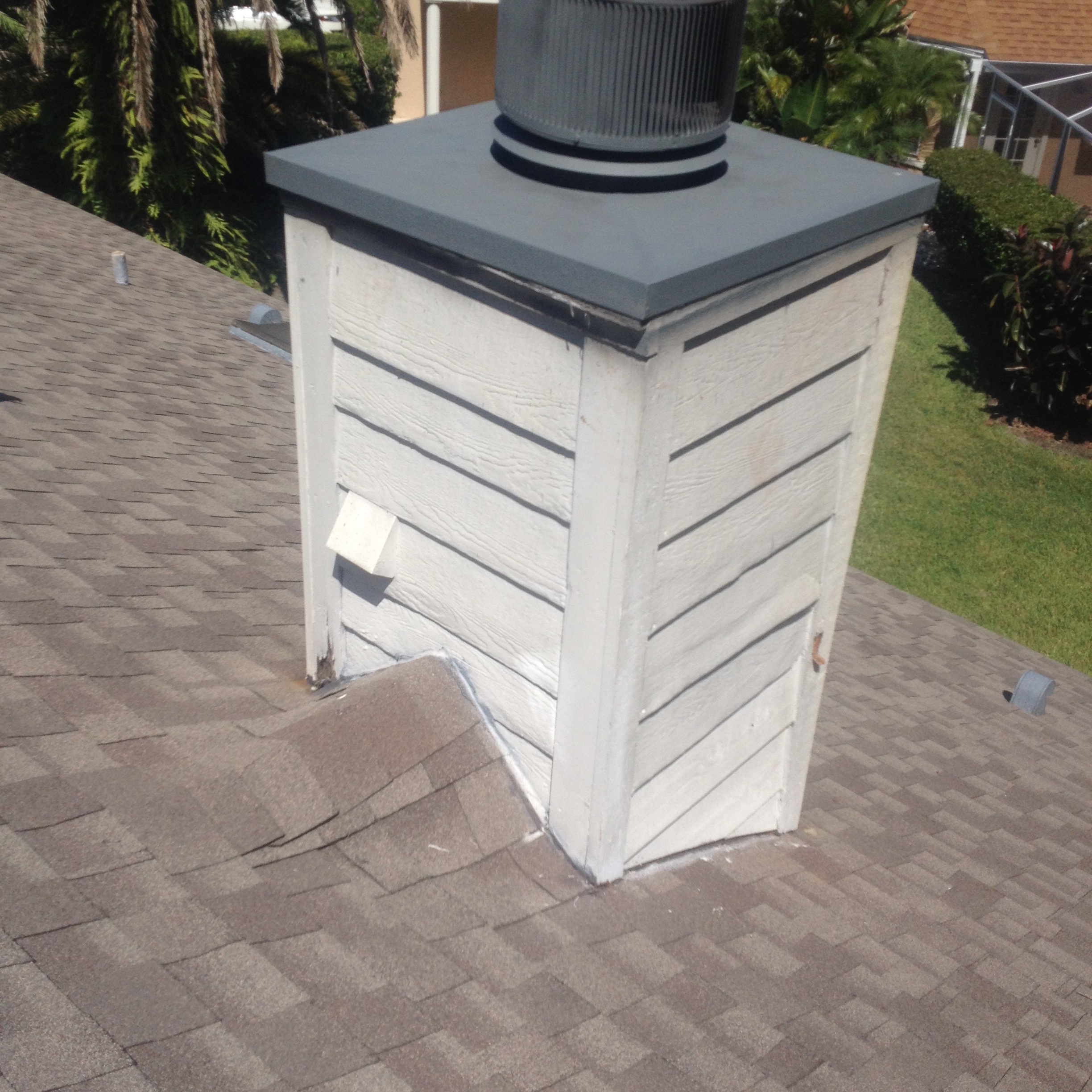 Chimney Siding Replaced Bcoxroofing Com
