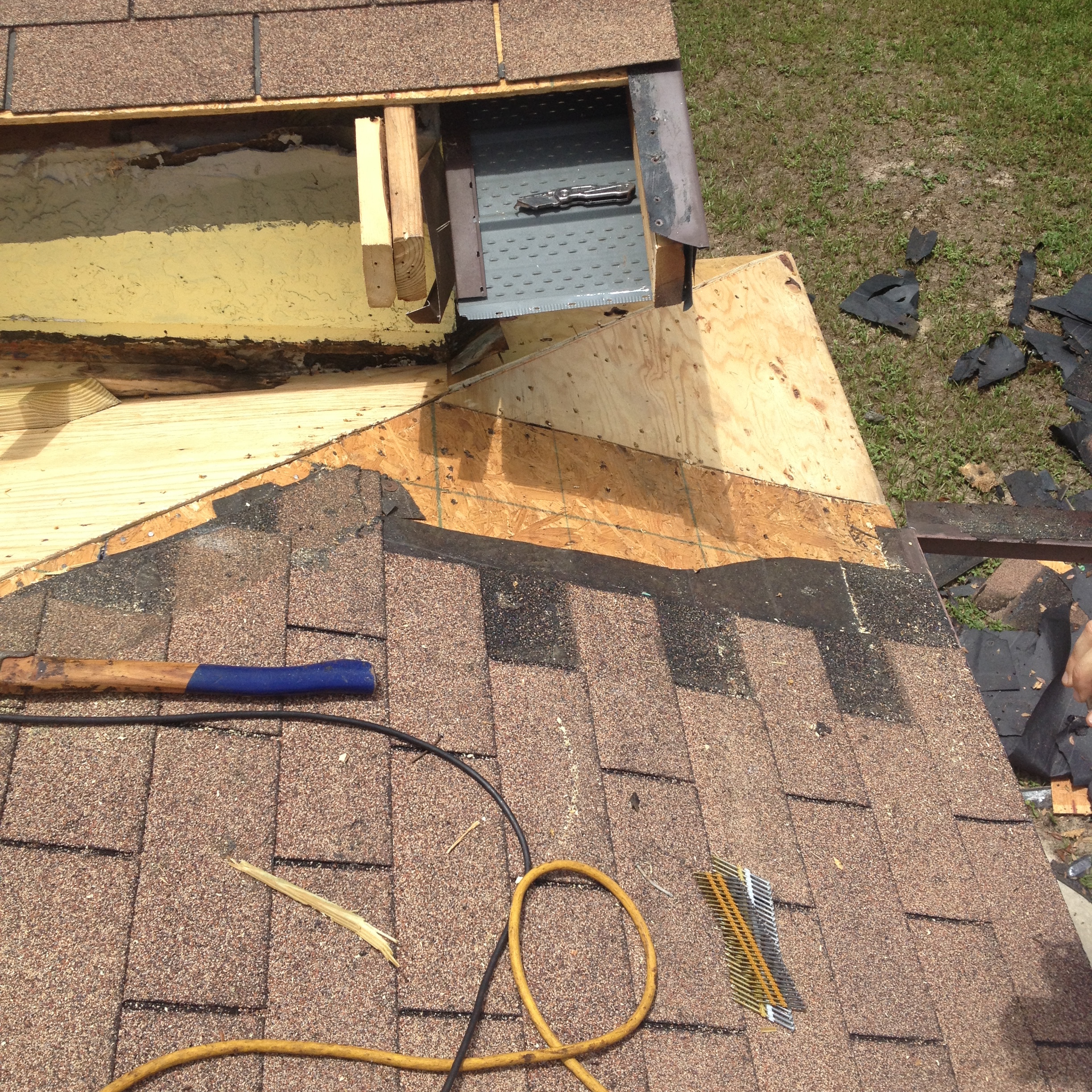 Low Slope Roof Leak Repaired Bcoxroofing Com