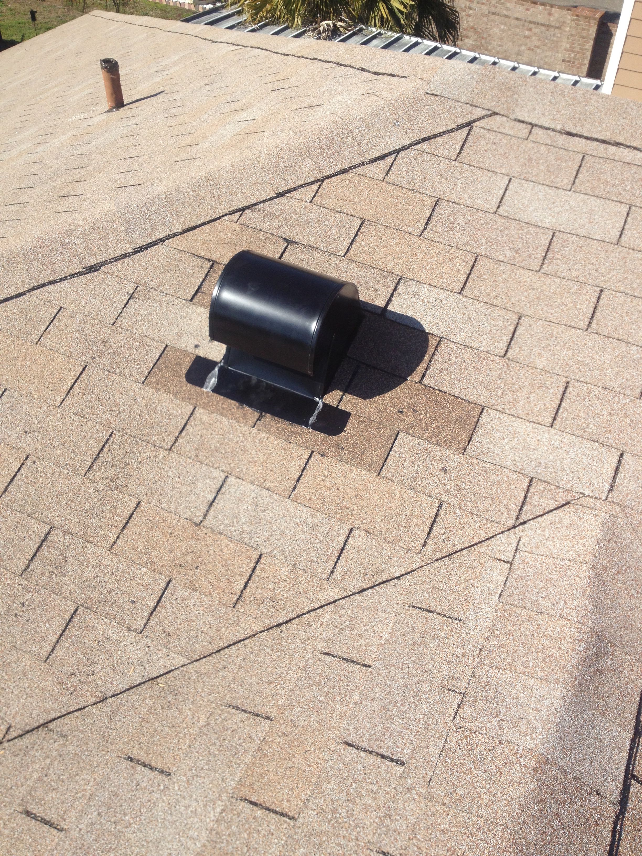 Kitchen Exhaust Vent Installed | bcoxroofing.com