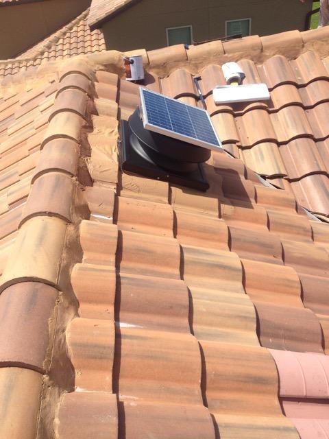 Solar Attic Vent Install Bcoxroofing Com