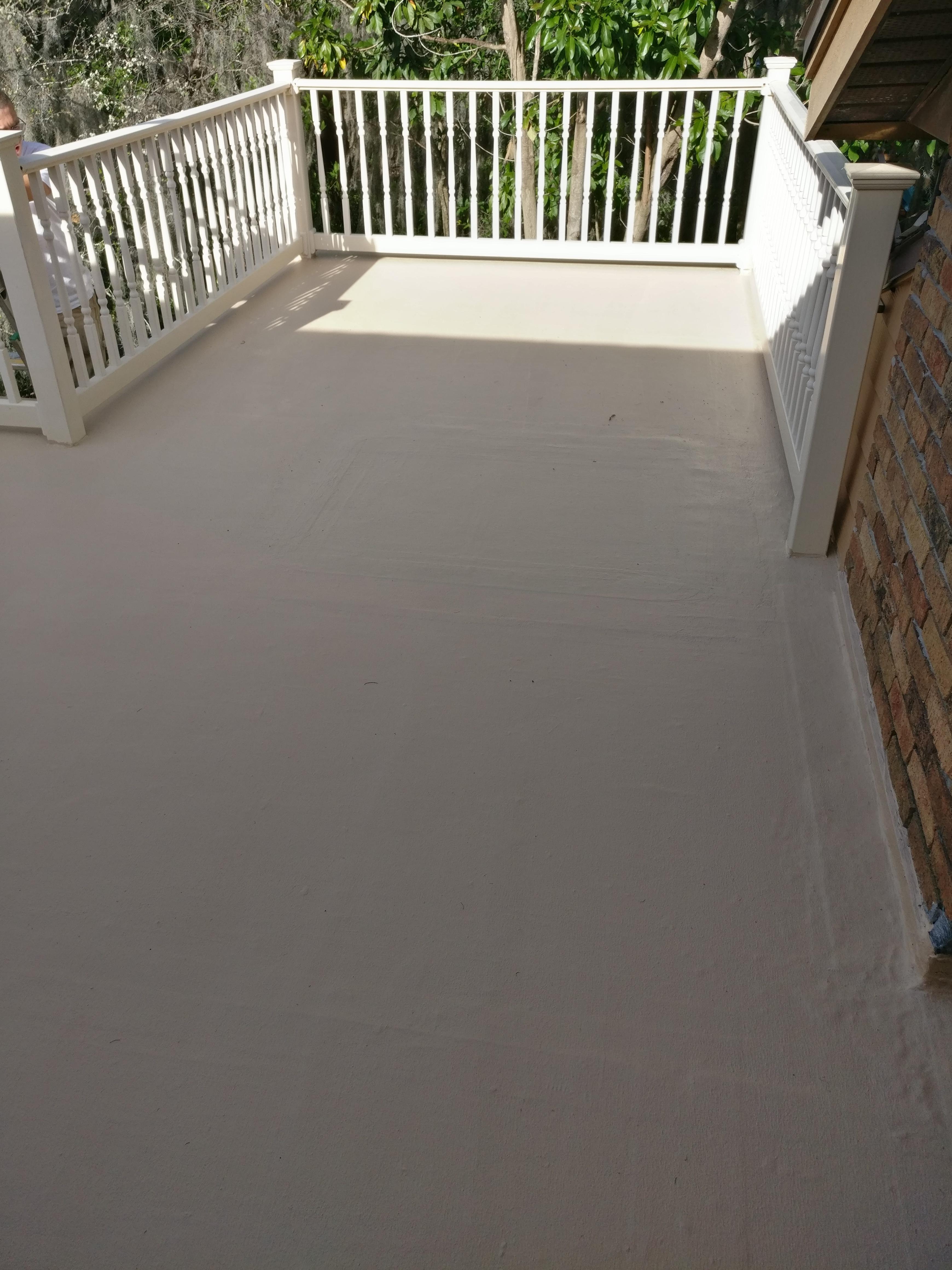 Sealoflex deck repair for Balcony repairs